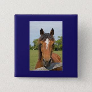 Beautiful horse button, pin, gift idea button