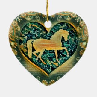 Beautiful Horse Ceramic Ornament