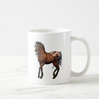 beautiful horse coffee mug