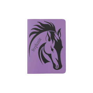 Beautiful Horse Design Passport Cover