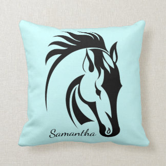 Beautiful Horse Design Throw Pillow