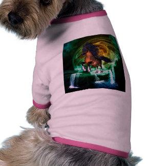 Beautiful horse doggie t-shirt