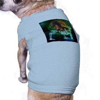Beautiful horse dog t shirt