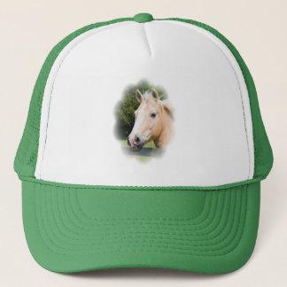 Beautiful horse head palamino photo hat, cap