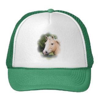 Beautiful horse head palamino photo hat, cap trucker hat