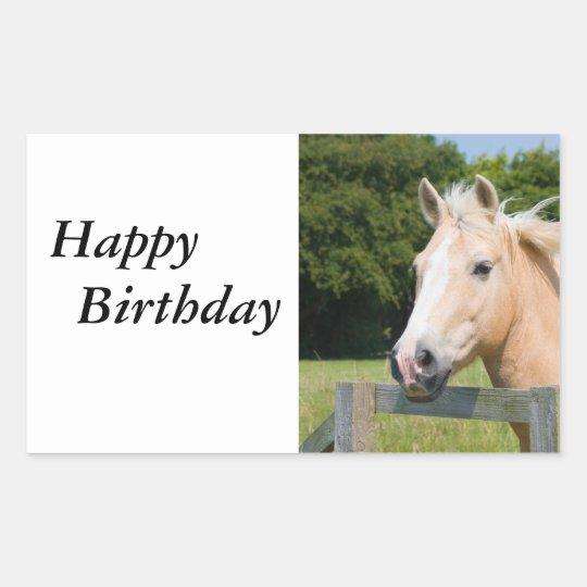 Beautiful horse head palamino photo stickers