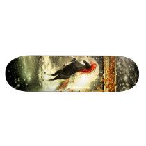 Beautiful horse in the universe skateboard