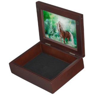 Beautiful horse in wonderland memory box