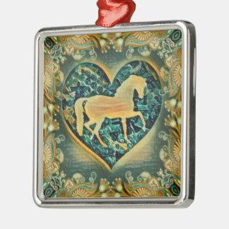 Beautiful Horse Metal Ornament