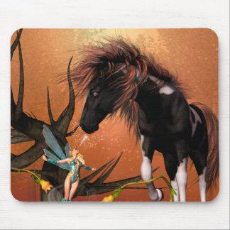 Beautiful horse mousepad