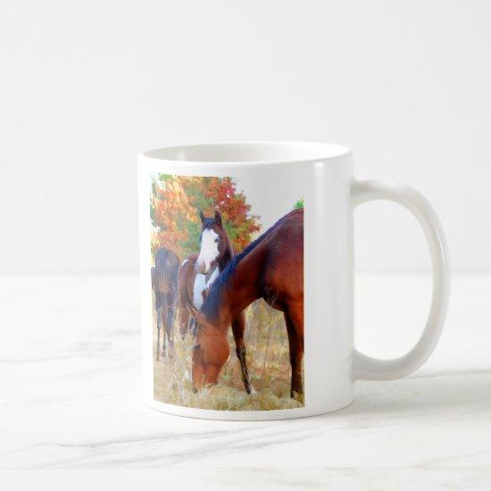 Beautiful Horse Mugs