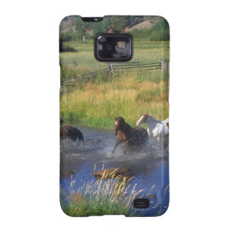 Beautiful Horse Ranch Destiny Nature Samsung Galaxy SII Cover