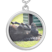 Beautiful horse rolling Necklace