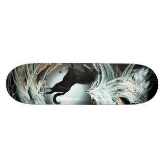 Beautiful horse skateboard deck