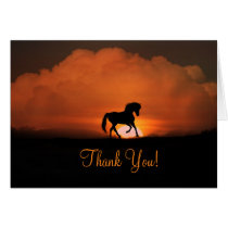 Beautiful Horse Thank You Card