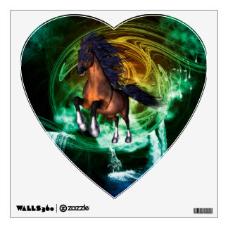 Beautiful horse wall graphic