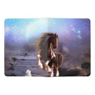 Beautiful  horse with moon i extra large moleskine notebook