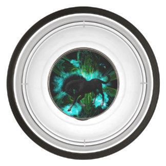 Beautiful horse pet bowl