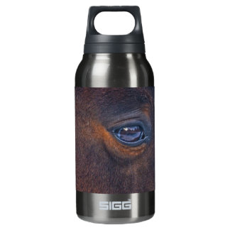 Beautiful Horse's Eye Equine Photo Insulated Water Bottle