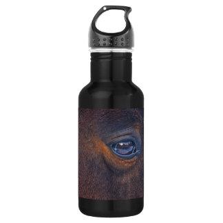 Beautiful Horse's Eye Equine Photo Water Bottle