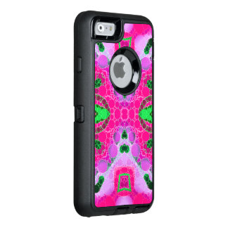Beautiful Hot Pink Abstract OtterBox iPhone 6/6s Case