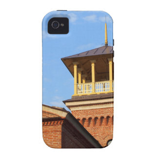 Beautiful house with a tower case for the iPhone 4