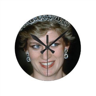 Beautiful HRH Princess of Wales Wallclocks