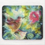 Beautiful Hummingbird Mouse Pad