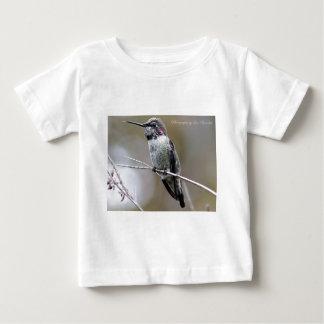 Beautiful Hummingbird Posing for photos Baby T-Shirt