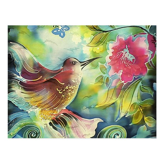 Beautiful Hummingbird Postcard