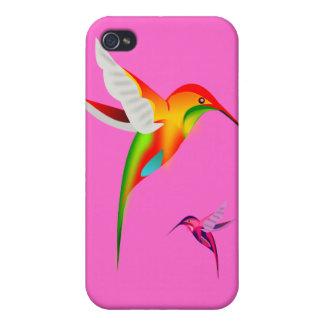 Beautiful Hummingbirds Colibri Covers For iPhone 4
