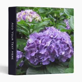 Beautiful Hydrangea Binder