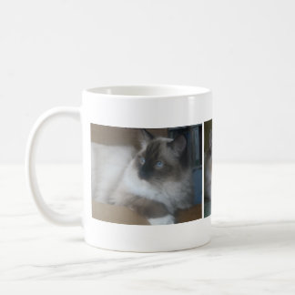 Beautiful Hymalayan Ragdoll Cat Coffee Mug