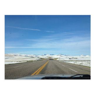 Beautiful ice fields postcard
