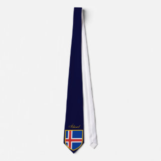 Beautiful Iceland Flag Neck Tie