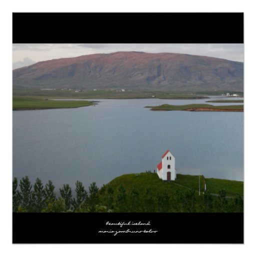 Beautiful Iceland Poster