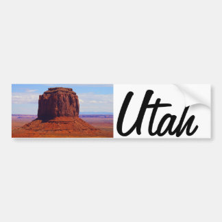 Beautiful image from Utah USA Bumper Sticker