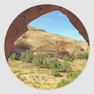 Beautiful image from Utah USA Classic Round Sticker