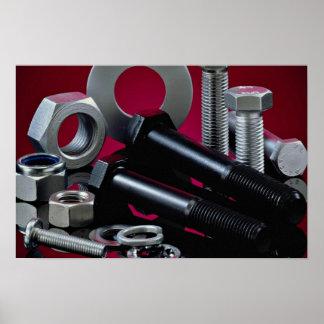 Beautiful Industrial fasteners Poster