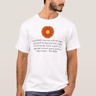Beautiful Inspiring Biblical Angel  Quote T-Shirt