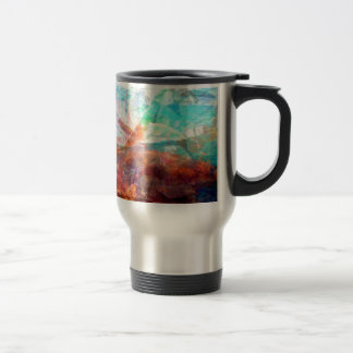 Beautiful Inspiring Underwater Scene Art Travel Mug