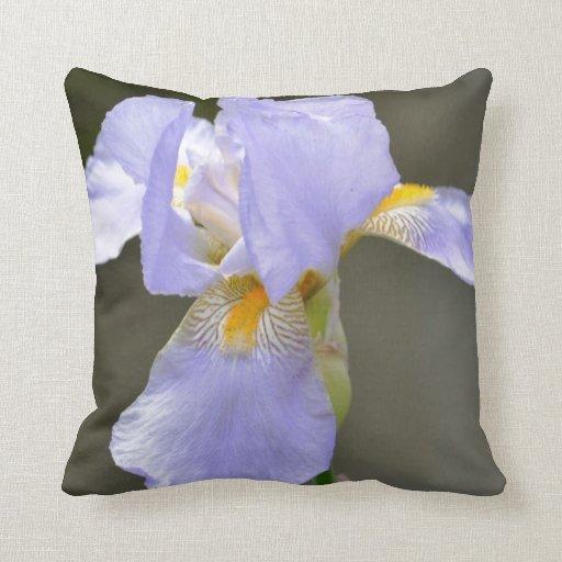 Beautiful Iris Throw Pillow