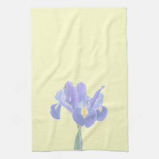 Beautiful Iris Tea Towel