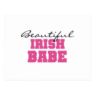 Beautiful Irish Babe Postcard