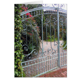 Beautiful Iron Gate Card