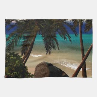 Beautiful island towels
