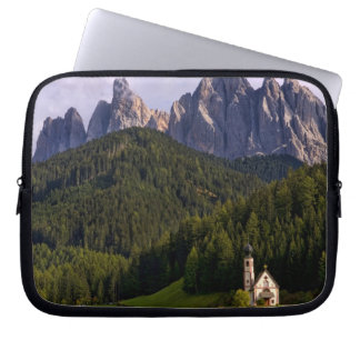 Beautiful isolated lonely church called Rainui 2 Laptop Sleeves