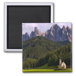 Beautiful isolated lonely church called Rainui 2 2 Inch Square Magnet