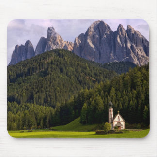 Beautiful isolated lonely church called Rainui 2 Mouse Pad