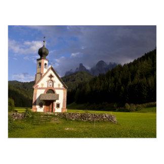 Beautiful isolated lonely church called Rainui Postcard